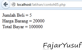 Contoh05 (Tipe Data)