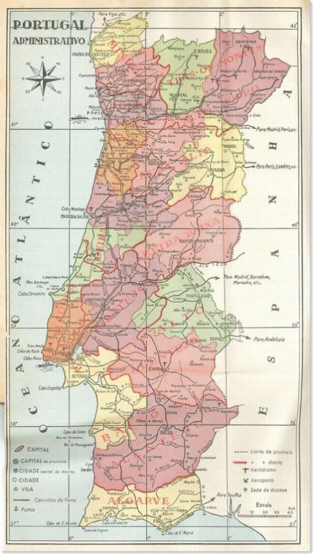 Bevorzugt Ainda sou do tempo:  deste Mapa de Portugal nas salas de aula MY95