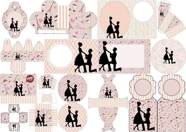 Proposal Party: Free Printable Kit.