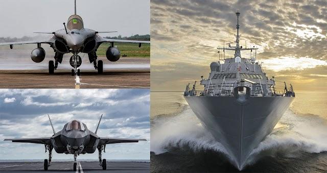 «Θωράκιση» της Χώρας με υπερόπλα: Συμμετοχή στα F-35-Συμφωνία Δεκ. για RAFALE-Οι 4+1 επιλογές για Φρεγάτες (ΓΡΑΦΗΜΑ)