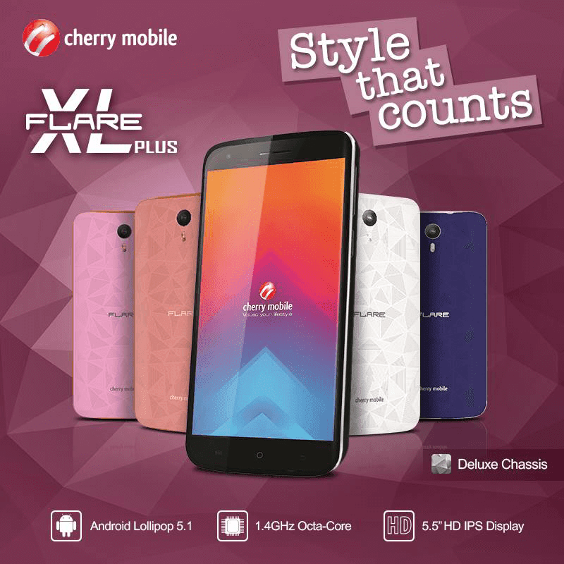 Cherry Mobile Flare XL Plus now official