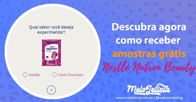 [ Amostra Grátis ] Nestlé Nutren Beauty Dark Chocolate ou Vanilla