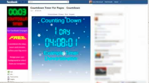 Facebook Countdown Timer - Jason-Queally