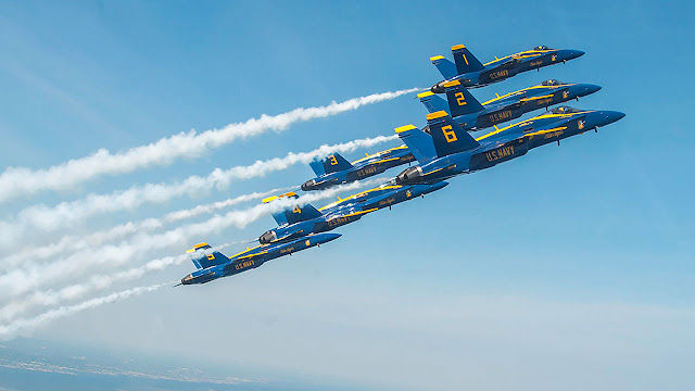"""Blue Angels"" U.S. Navy Flight Demonstration Squadron"