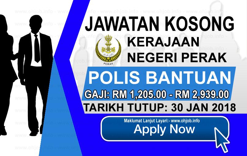 Jawatan Kerja Kosong Kerajaan Negeri Perak logo januari 2017