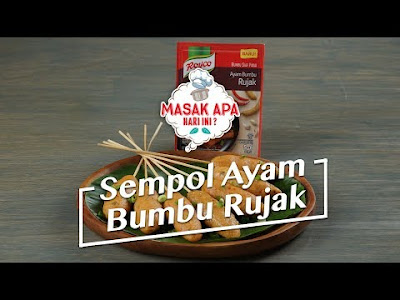Recipes Chicken Spices Rujak Sempol, prepare the current Get-together with family