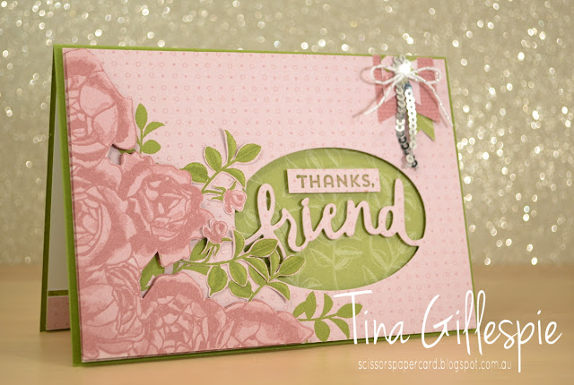 scissorspapercard, Stampin' Up!, CASEing The Catty, Petal Garden, Lovely Inside & Out, Lovely Words