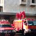 Damkar Semprotkan Disinfektan Kembali ke Istiqlal