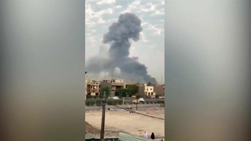 There have been at least three explosions at Iraqi Shia militia bases in the past month