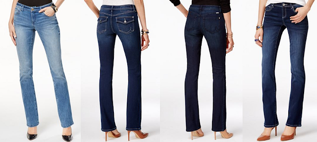 INC Curvy-Fit Bootcut $28-$40 (reg $70) - use promo code WOW