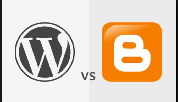 Differences Between A Blog In Wordpress And Website In Blogger