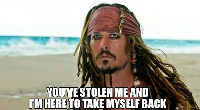 Jack Sparrow you have stolen me
