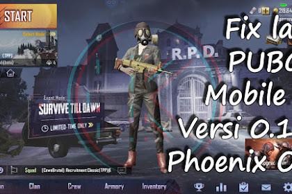 Fix Lag PUBG Mobile Versi 0.11 di Phoenix OS