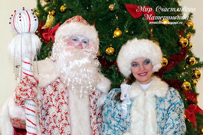 новогодние герои дед мороз и снегурочка