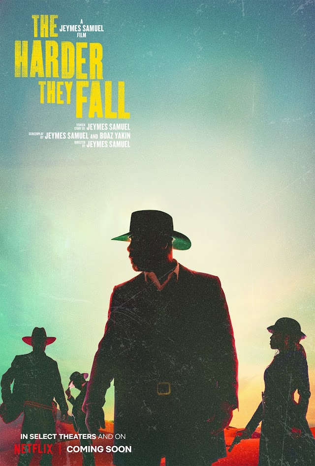 The Harder They Fall (Trailer Film Netflix 2021) Așa se întoarce roata