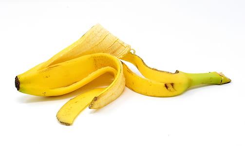 fruit peels, banana peels on face
