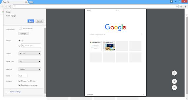 Catatan Ikrom Cara Convert HTML Menjadi PDF dengan Google Chrome