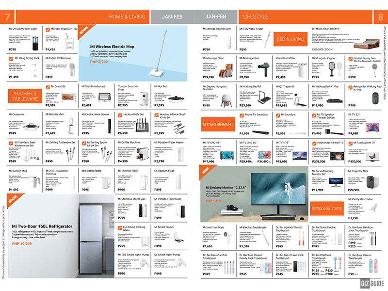 Brochure pages 7-8