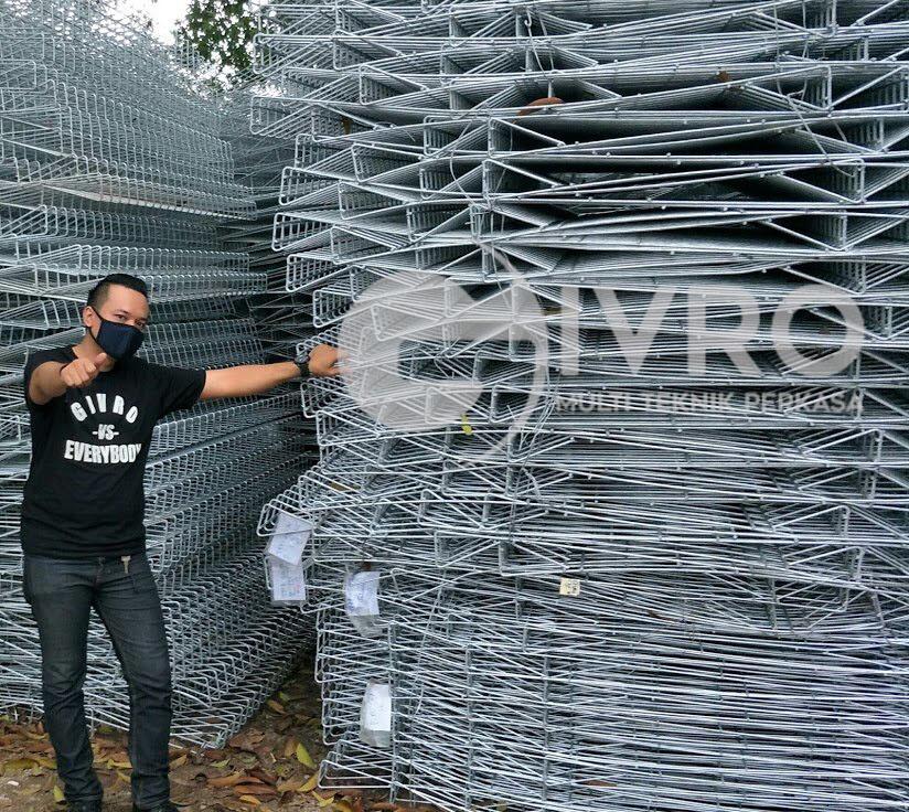 Pengertian Pagar BRC (Galvanized Fence)