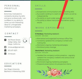 Cara Membuat CV di Android yang Unik (Aplikasi + Contoh)