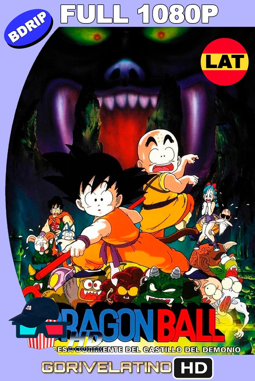 Dragon Ball: La princesa durmiente del castillo embrujado (1987) BDRip FULL 1080p Latino MKV