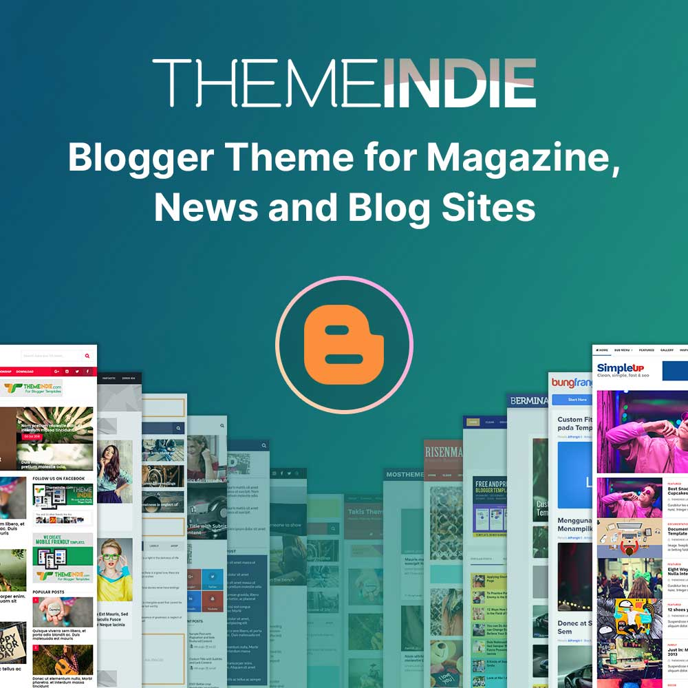 Free and premium blogger templates