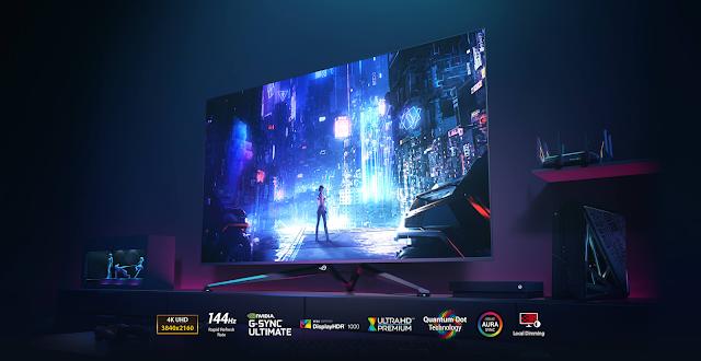 ASUS Republic of Gamers (ROG) anuncia a disponibilidade do ecrã Gaming de grande formato Swift PG65UQ