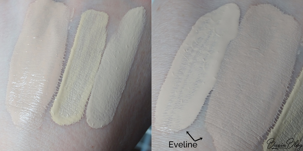Eveline Liquid Control HD 005 recenzja blog swatch