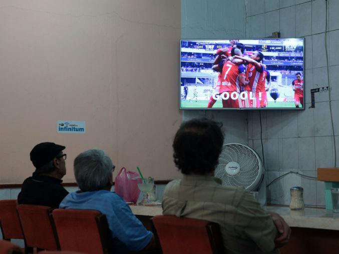 Las fallas se dieron durante la transmisión del partido entre las Chivas y Rayados.