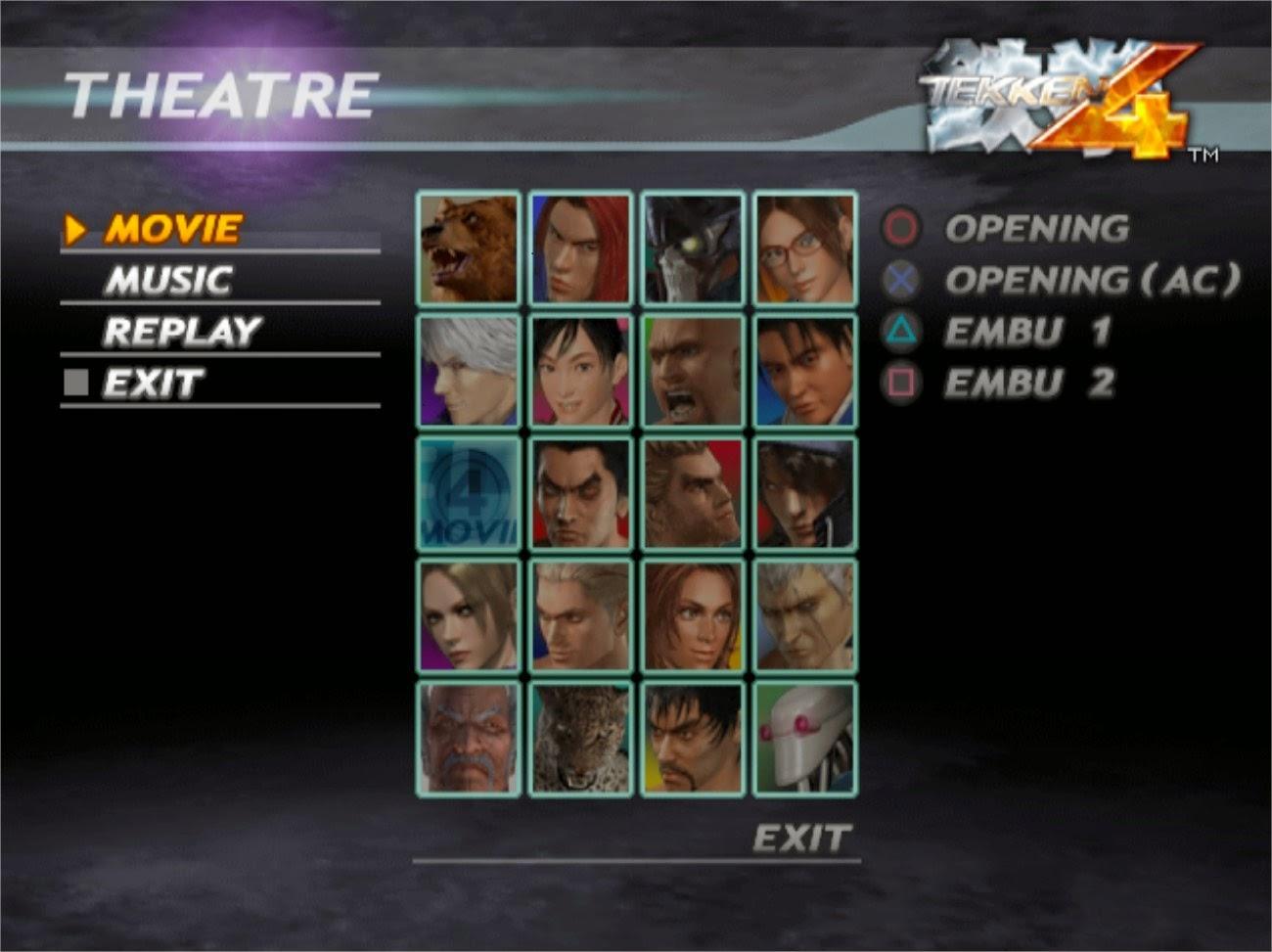 About Tekken 4