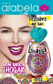Catalogo arabela México campaña 13 2016