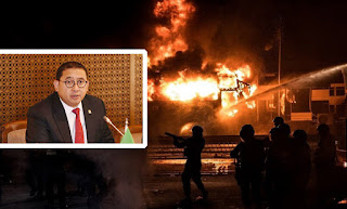 Dalang Pembakar Halte Sarinah Terbongkar, Fadli Zon Kaitkan Dengan Agen Provokator