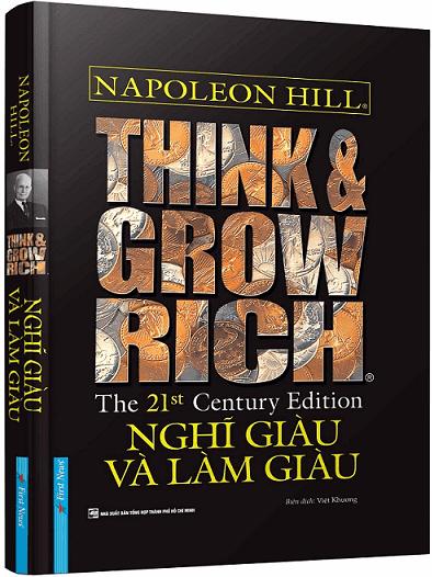 Sách Truyền Cảm Hứng: NGHĨ GIÀU VÀ LÀM GIÀU - Napoleon Hill.