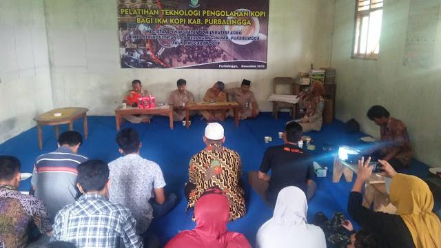 Pelatihan Teknologi Kopi Bagi LKM Kopi Kabupaten Purbalingga