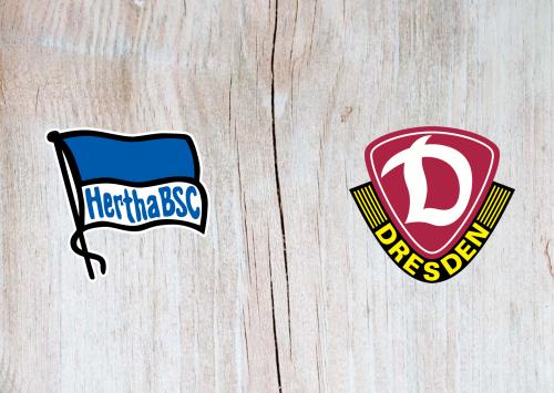 Hertha BSC vs Dynamo Dresden -Highlights 30 October 2019