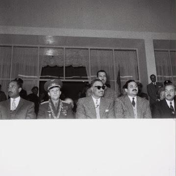 Gagarin between Nasser and Sadat