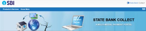 SBI Collect Portal