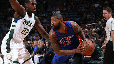 Milwaukee Bucks vs Detroit Pistons