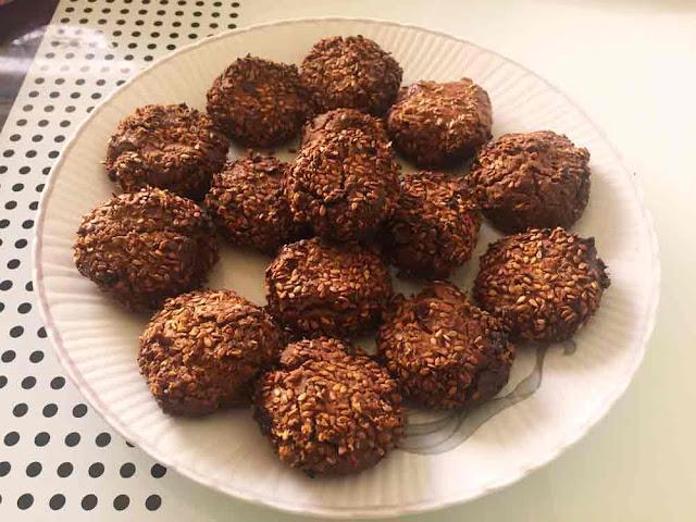Kakaolu Tahinli kurabiye