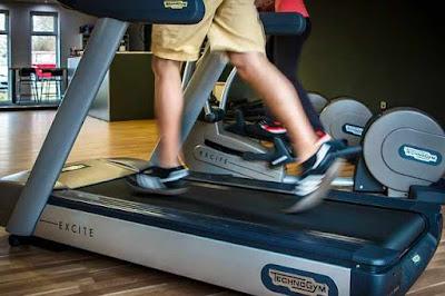 مدة التمرين على السير الكهربائي؟