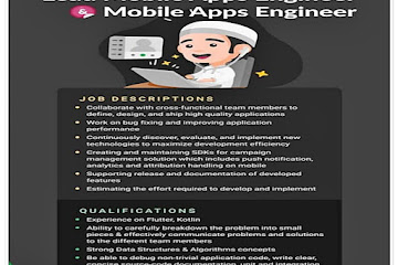 Lowongan Kerja Mobile Apps Engineer Evermos