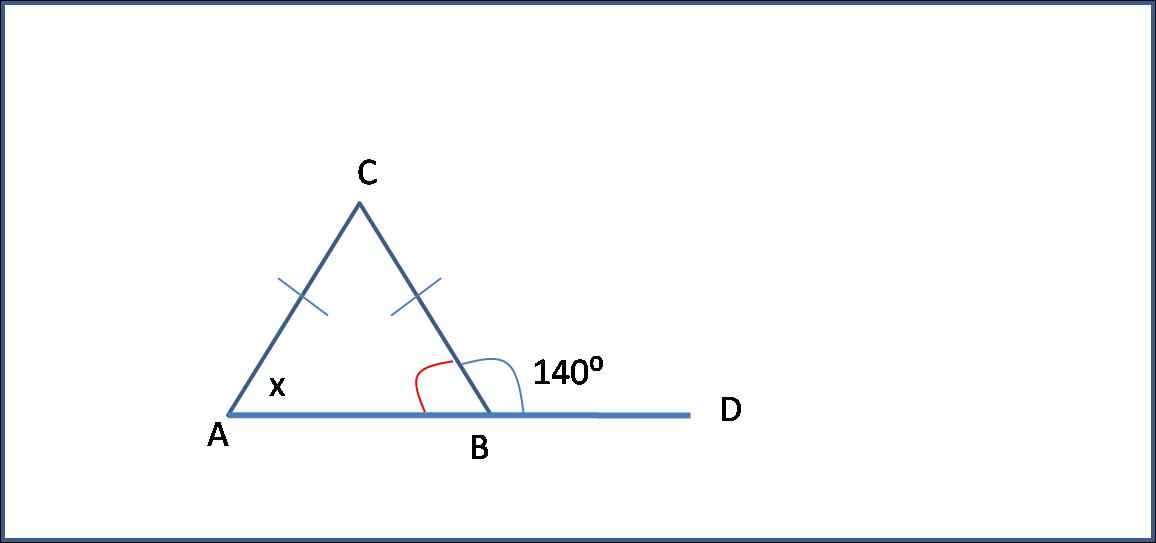 Soal Tentang Sudut Luar Segitiga - Solusi Matematika