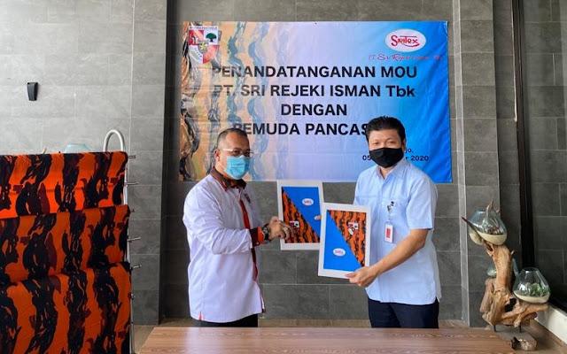 MPN Pemuda Pancasila Resmi Gandeng Sritex Penyedia Bahan Seragam