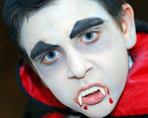 mundo fili maquillaje apropiado para el halloween de los