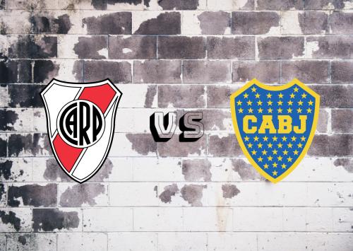 River Plate vs Boca Juniors  Resumen y Partido Completo