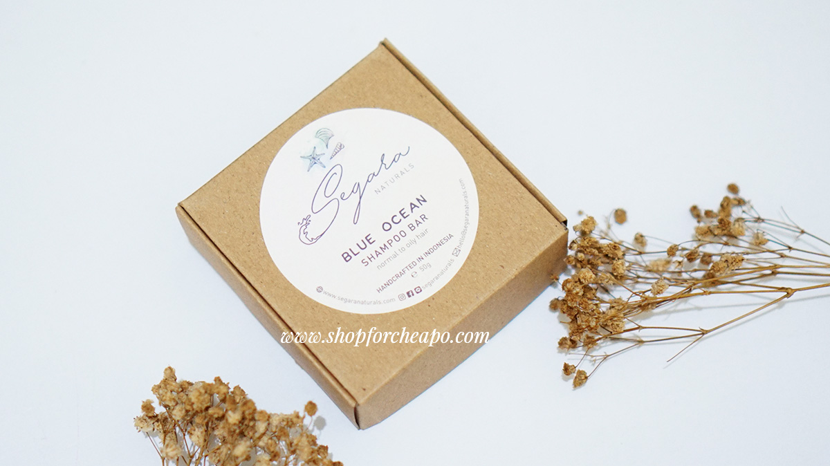 Review Sampo Ramah Lingkungan: Segara Naturals Blue Ocean Shampoo Bar
