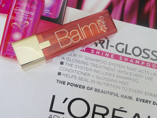 L'Oreal Colour Riche Balm in Plush Plum swatches and review