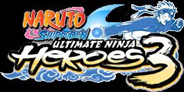 NARUTO SHIPPUDEN ULTIMATE NINJA HEROS 3
