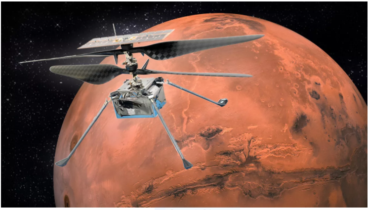 Mars Helicopter, Ingenuity Is Ready To Explore The Red Planet