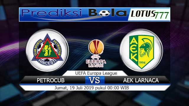 PREDIKSI PETROCUB VS AEK LARNACA JUMAT 19 JULI 2019